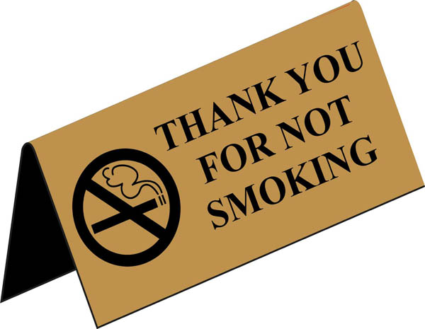 No-Smoking-sign-tent