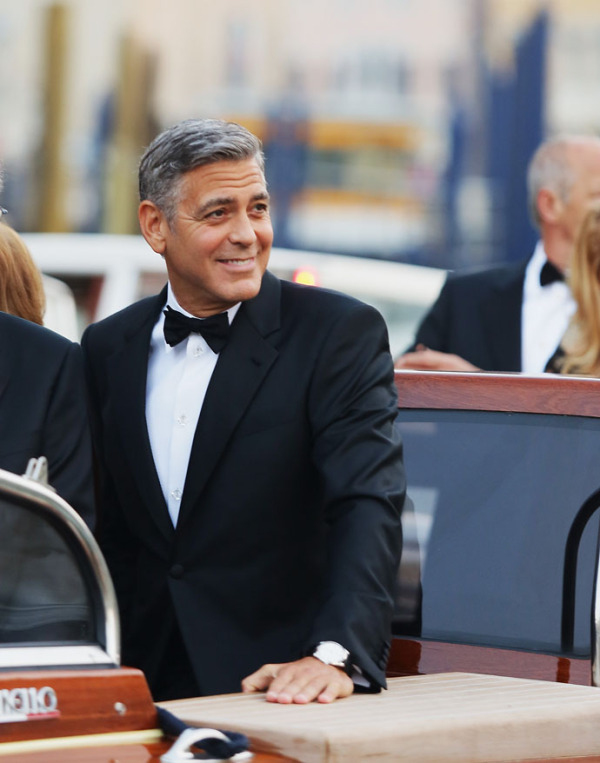 George Clooney And Amal Alamuddin To Get Married In Venice - Celebrity Sightings