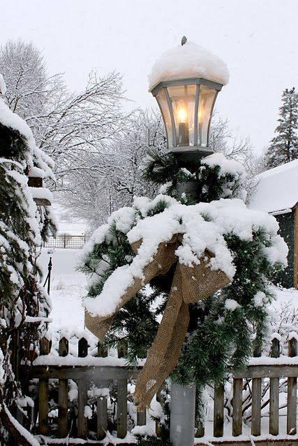 snow lampa