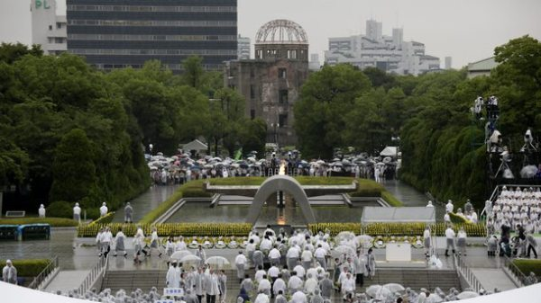 Hiroshima marks 69th anniversary of the atomic bombing
