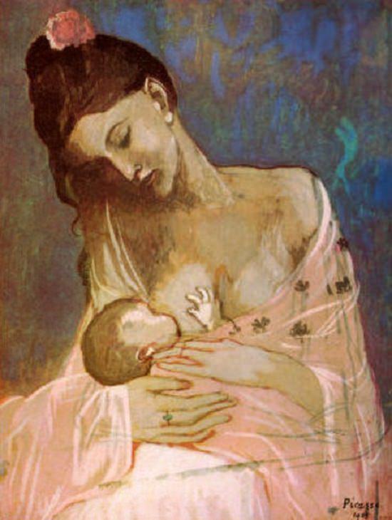 mama maternity Pablo Picasso