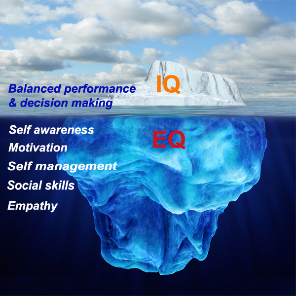 Emotional Inteliigence iceberg