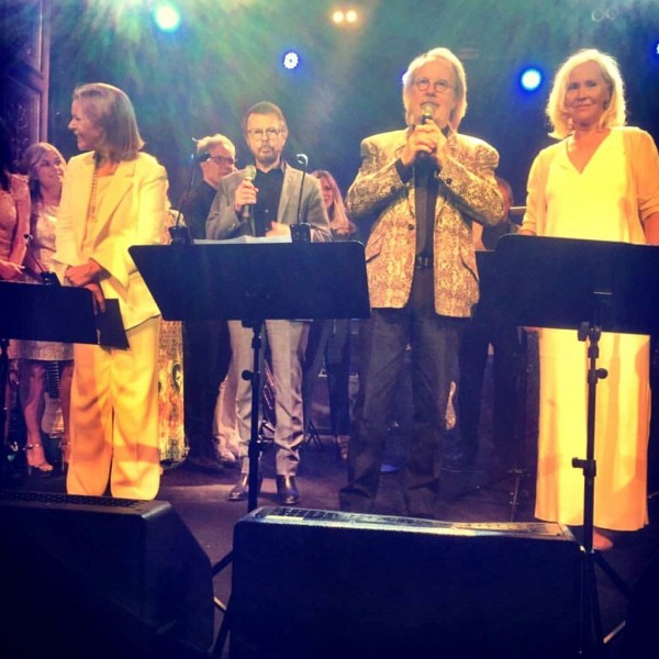 ABBA reunited