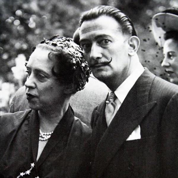Elsa Schiaparelli and Salvador Dali