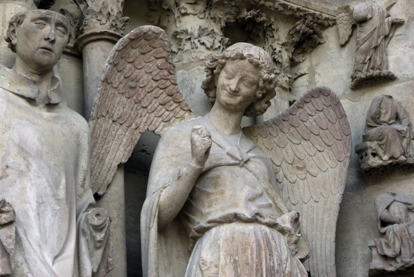 angel reims cathedral