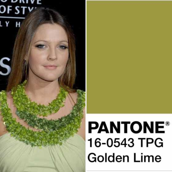 color 17 GOLDEN LIME