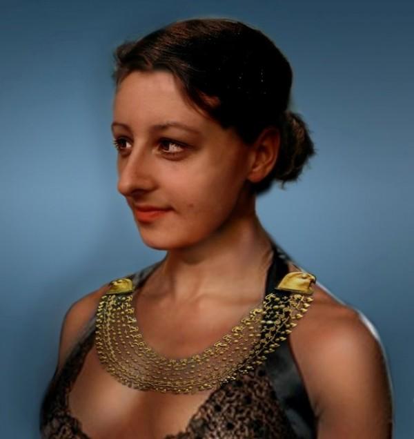 Възстановка на образа на Клеопатра