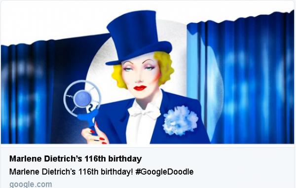 Marlene Dietrich google